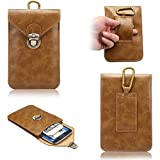 Dteck(TM) Cellphone Purse Bag, Multifunctional Crazy Horse Pattern - Best Reviews Guide