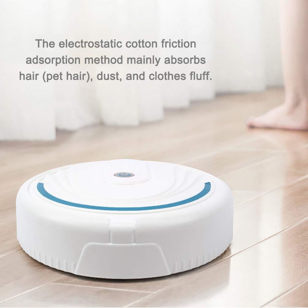 Aspiradora robot limpieza inteligente para el hogar Aspiradora autom/ática para trapear robot Aspiradora inteligente para piso duro Azulejos y alfombras para mascotas