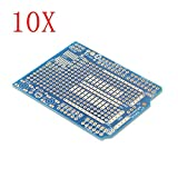 10Pcs Prototyping Shield PCB Board For Arduino