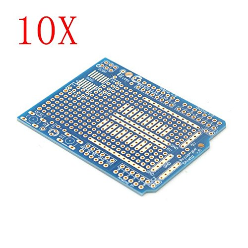 10Pcs Prototyping Shield PCB Board For Arduino by BephaMart