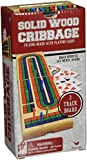 Solid Wood Folding Cribbage Set