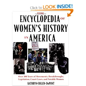 Encyclopedia of Women's History in America Kathryn Cullen-Dupont