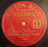 Edison Bell Winner Record Vintage: 78 RPM Record, Doge's March