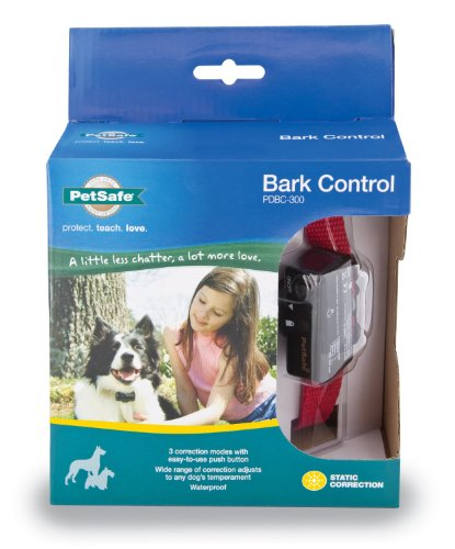 PetSafe Deluxe Bark Control Collar (PDBC-300) for Dogs 8 lb. and Up, Waterproof, 3 Modes of Static Correction by PetSafe