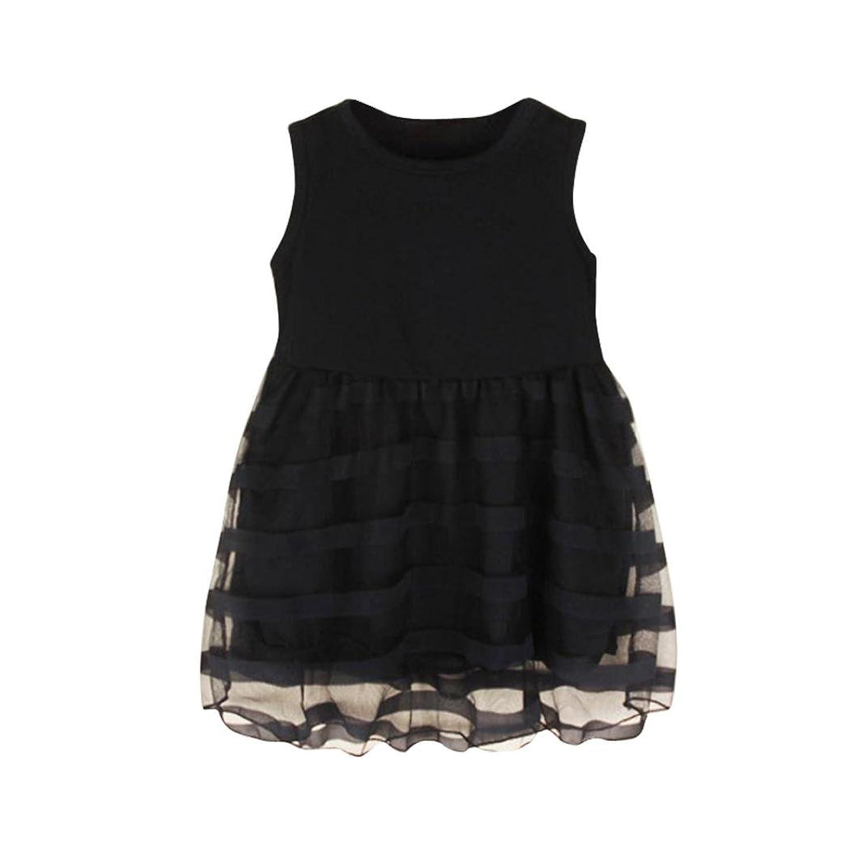 5ffa43b74 Chic Vestido Bebe Niña Verano, K-youth® Ropa Bebe Niña Sin Mangas Malla