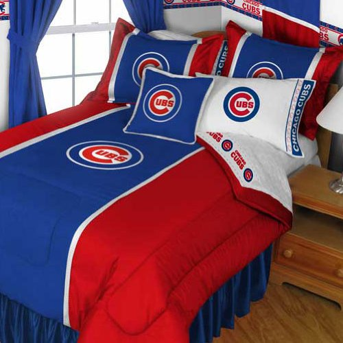 Mlb Chicago Cubs Sports Bedding Set Boys Twin Single