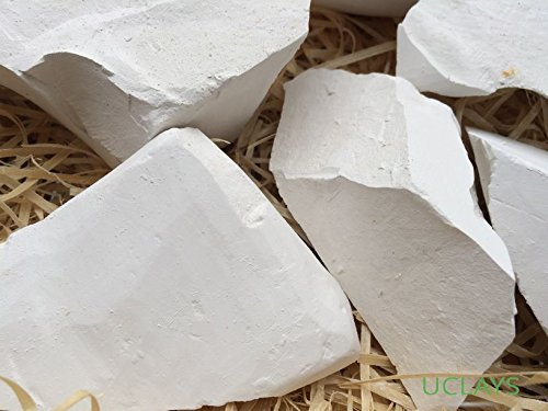 SUNNY edible Chalk chunks (lump) natural for eating (food), 4 oz (113 g) UCLAYS