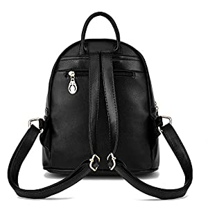 Women Leather Backpack Purse Satchel School Bags Casual Travel Daypacks for Girls