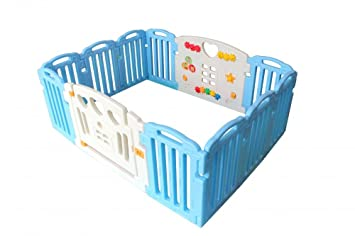 100% Quality New Baby Playpen Kids 8 Panel Safety Play Center Yard Home Indoor Outdoor Pen Baby Playpens & Play Yards
