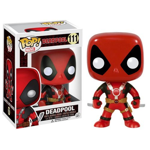 Deadpool with Two Swords Pop Vinyl Figure Bundled with Box Protector