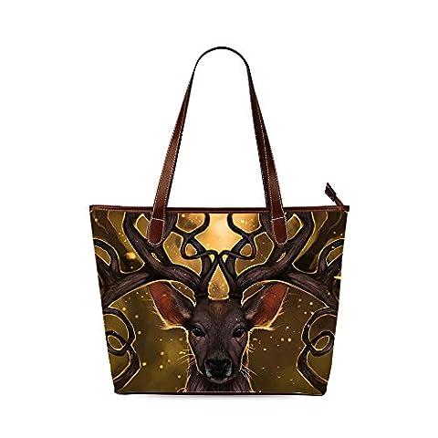 Deer Custom Interest Print Tote Bag - Earthway Bag Seeder
