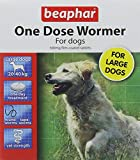 Beaphar One Dose Wormer for Large Dogs 4 Tablets (Pack...