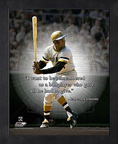 Roberto Clemente Pittsburgh Pirates 12X15 Framed ()