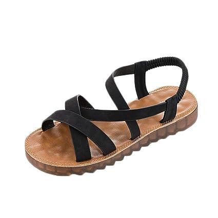 f31f2c0a9a2aa Sunshinehomely Women Sandals Flat