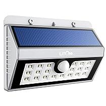 Litom Super 20 LED Solar Powered Wireless Security Light