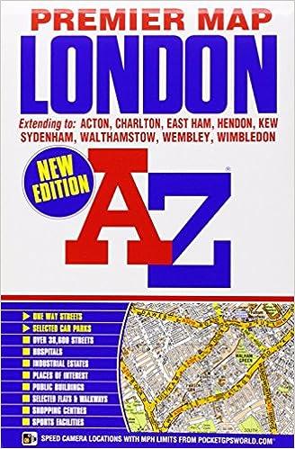 Az London Street Map.London Premier Map A Z Premier Street Maps Amazon Co Uk