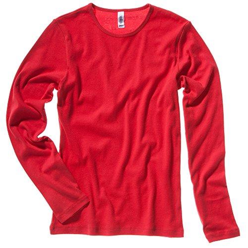 Bella Canvas - Camiseta - para mujer Rojo rosso small