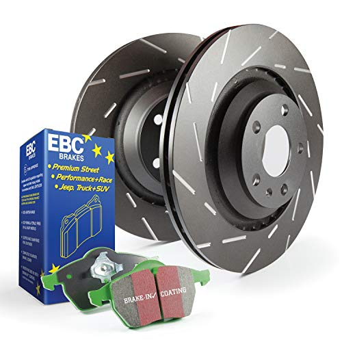 2017 Nissan Maxima Clutch - EBC S2KR1890 Stage-2 Sport Brake Kit