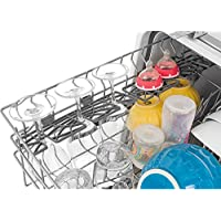 Frigidaire FFID2423RS 24 Energy Star Rated Built-In Dishwasher with Stainless Steel Spray Arm Dual Filtration and SaharaDry Systems Multiple-Cycle Option and DishSense Technology in Stainless