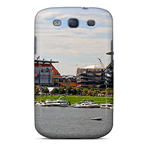 Samsung Galaxy S3 RNZ737sOrV Custom High-definition Pittsburgh Steelers Skin Excellent Cell-phone Hard Cover -LavernaCooney