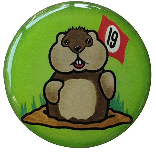 Marker & Hat Clip - 19th Hole Gopher (Caddyshack Golf Ball)