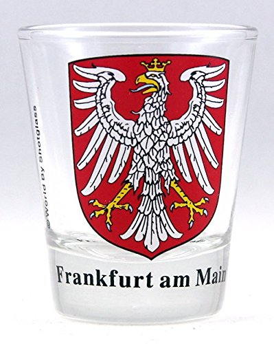 Frankfurt am Main Germany Coat Of Arms Shot - Glass Germany