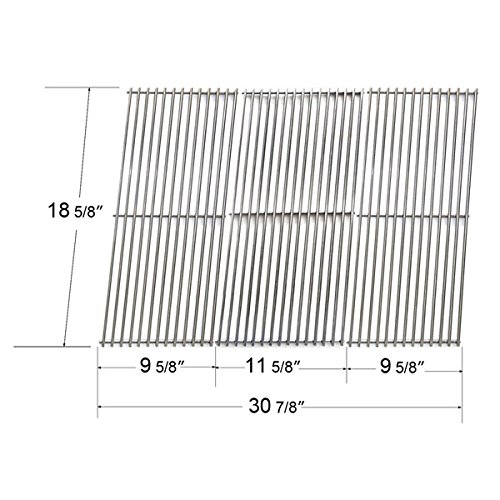 Gourmet Set Outdoor Cooking (GrillWorld Inc Outdoor Gourmet Replacement Stainless Steel Cooking Grate 2473 (Set of 3))