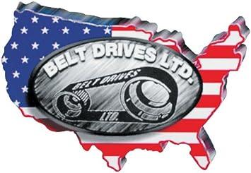 1 1//8in 137 T BDL-SPC-137-118 - 14mm Belt Drives Falcon SPC Rear Drive Belt