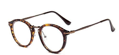 Embryform Retro occhiali rotondi cornice dello specchio pianura uomini e donne faccia religiose selv...