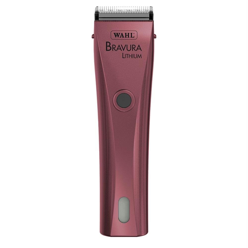 Wahl Professional Animal Bravura Pet, Dog, Cat, and Horse Corded / Cordless Clipper Kit, Pink (#41870-0424) by Wahl Professional Animal