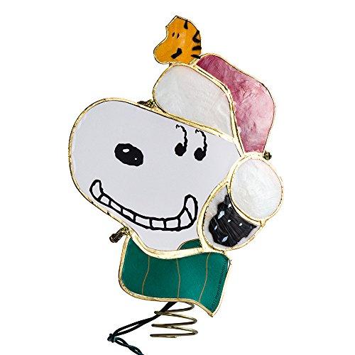 Snoopy Christmas Tree Topper: Amazon.com: Kurt Adler Snoopy Lighted Treetop, 9-Inch