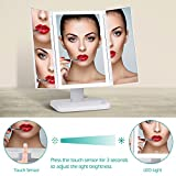[2018Upgraded]Lighted Vanity Makeup Mirror with 38