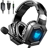 Gaming Headset Xbox One Headset with 7.1 Surround