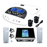 Healctiy Dual User Ionic Detox Foot Bath Spa Machine Cell Cleanse System with Far Belts & Colored LCD