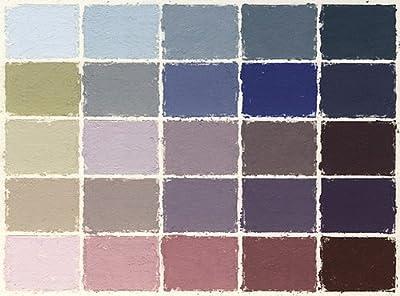 Mount Vision Pastel Company 25-Piece Thunderstorm Grey Set