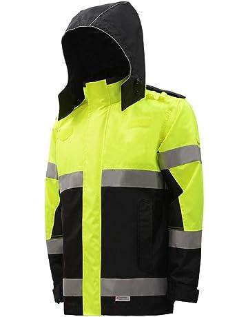 SYRAINCOAT Impermeabile Riflettente Abbigliamento da Lavoro igienico-Sanitario Ispessimento Adulto da Lavoro allaperto assicurazione da Lavoro Impermeabile Tuta Impermeabile da Pioggia