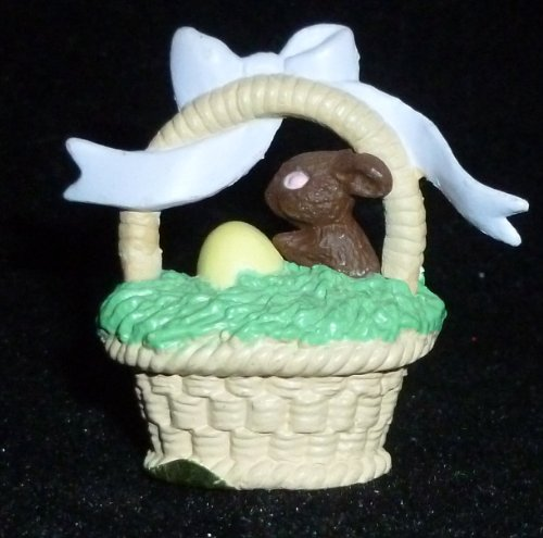 (Hallmark Merry Miniature Easter Basket Figurine)