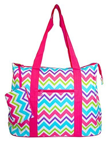 Ever Moda Chevron Tote Bag X-Large