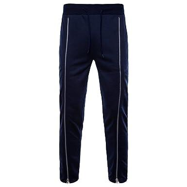 VPASS Pantalones Hombre, Chándal de Hombres Casuales Moda ...