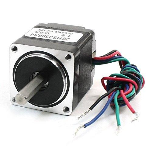 TOOGOO(R) Nema11 4 Wire 1.8 Degree CNC Stepping Stepper Motor 33mm 0.6A 8.5oz.in