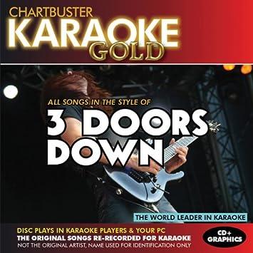 Karaoke Gold Songs in the Style of 3 Doors Down  sc 1 st  Amazon.com & Various Artists - Karaoke Gold: Songs in the Style of 3 Doors Down ...