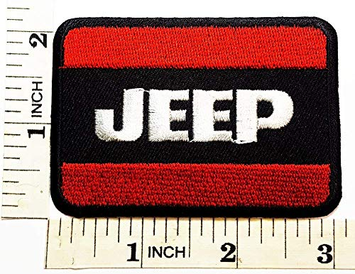 Jeep Wrangler Grand Cherokee Patch Symbol Jacket T-Shirt Embroidered Patch 3.1