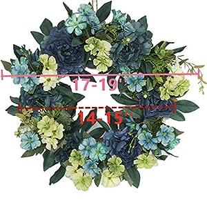 Beautiful Wreaths | Blended Hydrangea Wreath | Summer Wreaths | Front Door Wreaths | Fall Wreath | Outdoor Wreaths | Summer Wreath 2