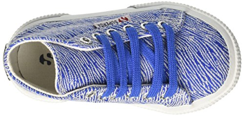 Superga Mädchen 2795-Fabriczebraj High-Top Blau
