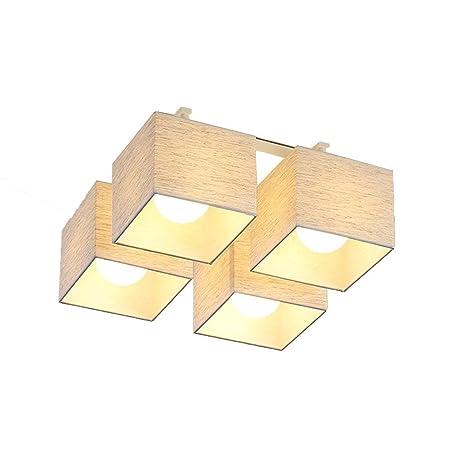 Moderno Simple Tela Paraguas Luces de Techo Sala de estar LED ...