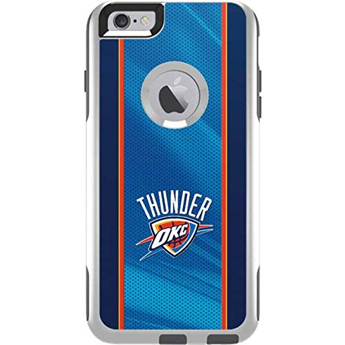 Skinit Oklahoma City Thunder Blue Jersey OtterBox Commuter iPhone 6 Plus Skin for CASE - Officially Licensed NBA Skin for Popular Cases Decal - Ultra Thin, Lightweight Vinyl Decal Protection