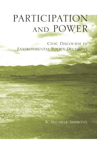 Participation and Power: Civic Discourse in Environmental Policy Decisions (S U N Y Series, Studies in Scientific and Te