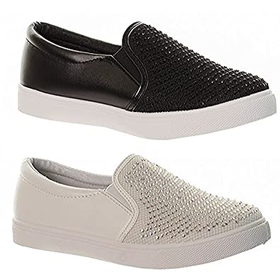 29, results for womens slip on trainers Save womens slip on trainers to get e-mail alerts and updates on your eBay Feed. Unfollow womens slip on trainers to .