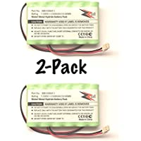 2-Pack ZZcell Battery For Honeywell Alarm Lynx L3000, Lynx L5000, Lynx L5100, 300-03864-1 1500mAh (NOTE: Battery Connector - 2 Prong)