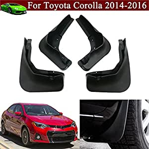 4pcs car mud flap splash guard fender mudguard. Black Bedroom Furniture Sets. Home Design Ideas